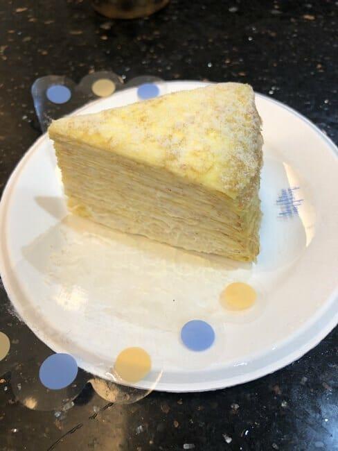深藍咖啡千層蛋糕