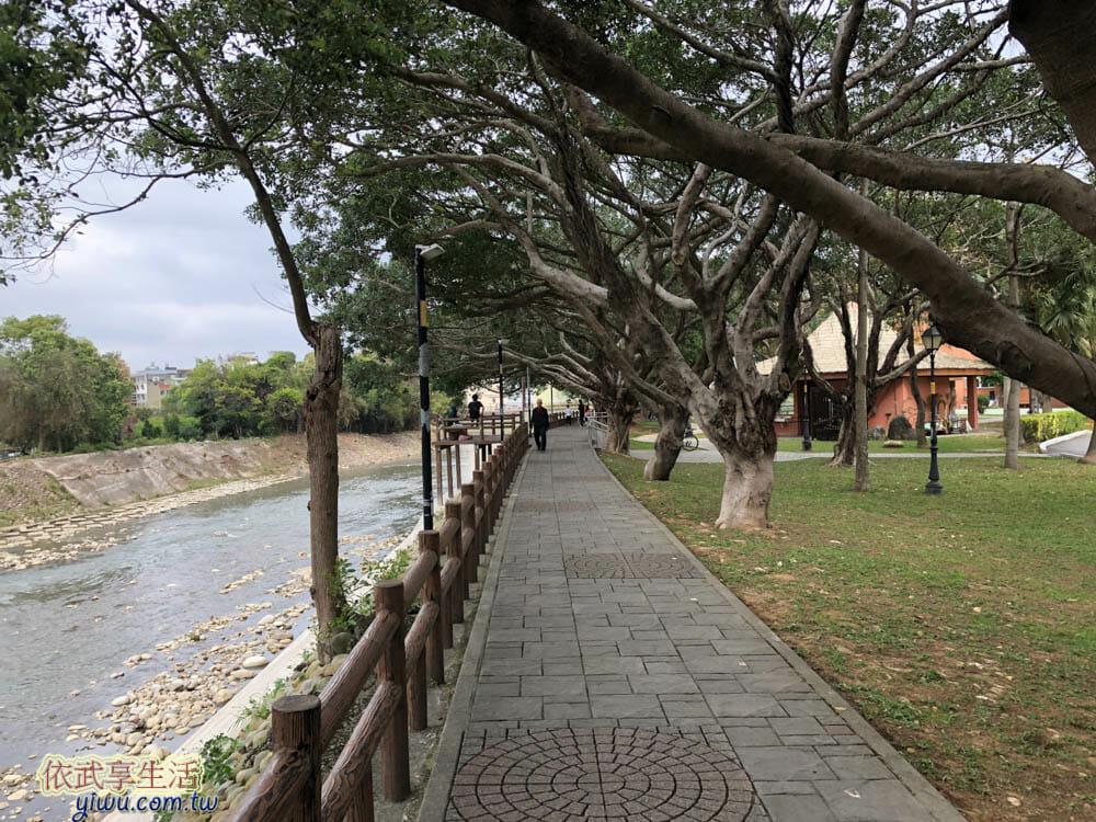 中壢藝術園區散步步道