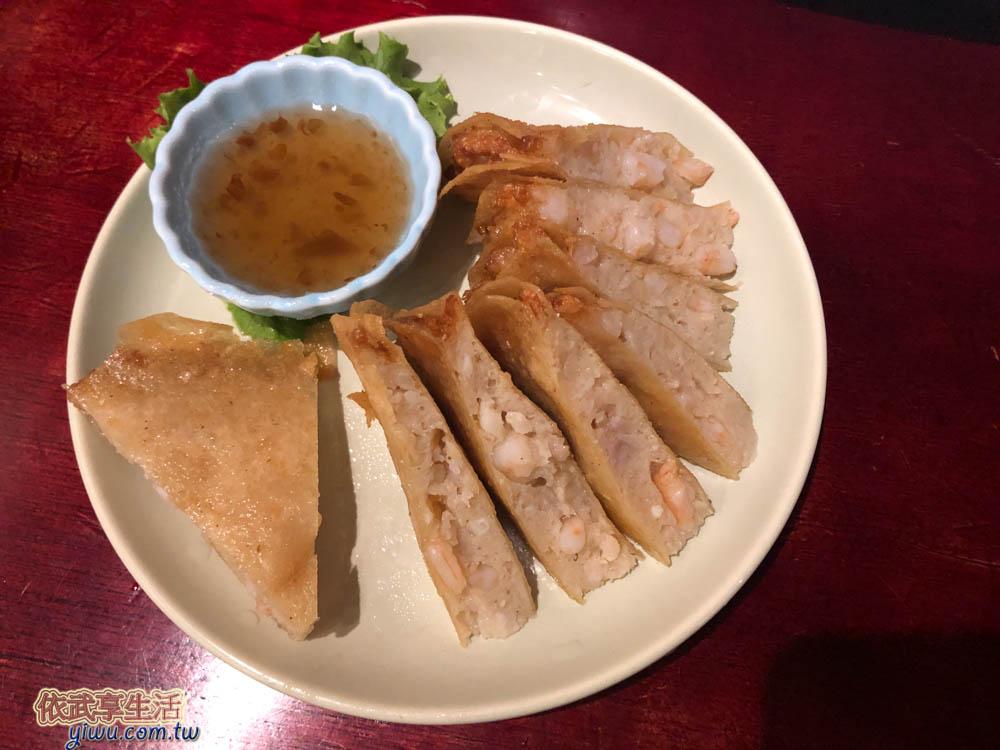 象迦泰式料理月亮蝦餅