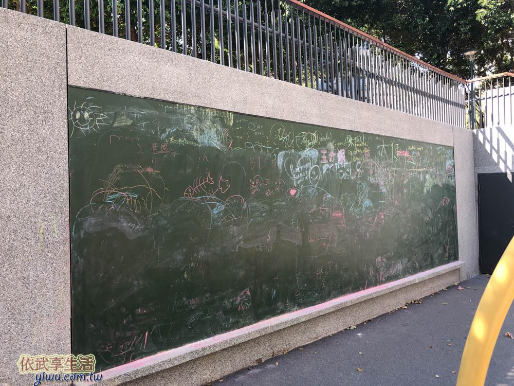 關新公園塗鴉板