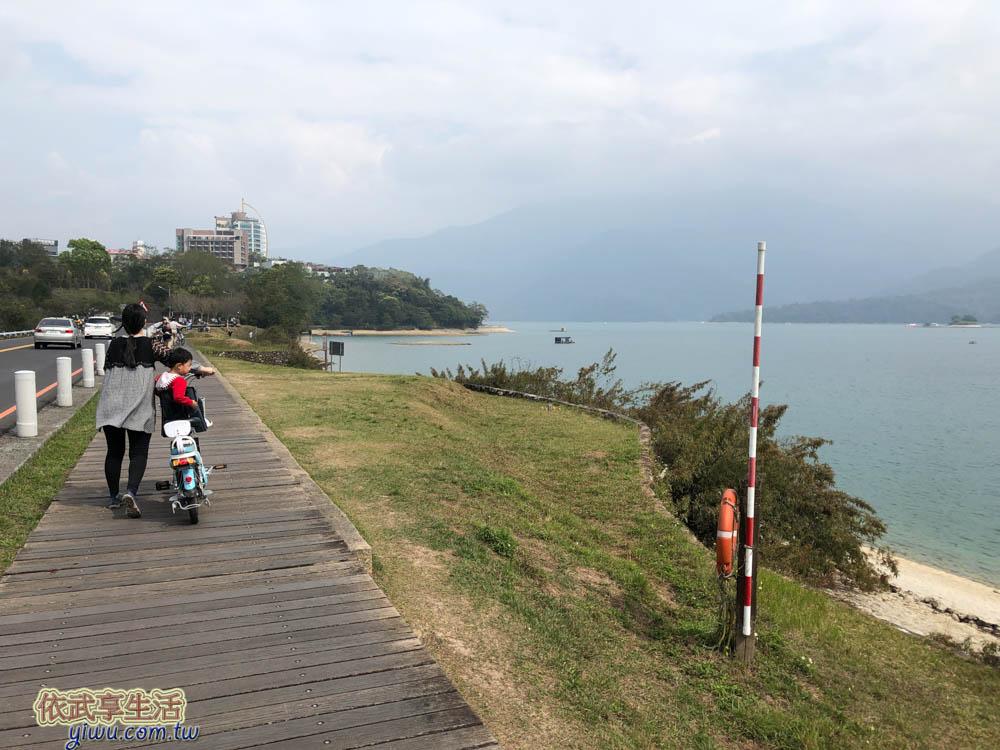 日月潭自行車道向山段