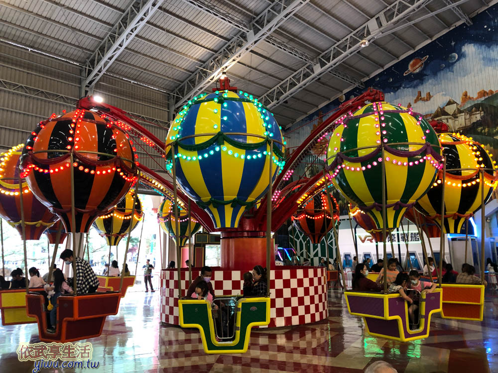 九族文化村阿拉丁廣場熱氣球