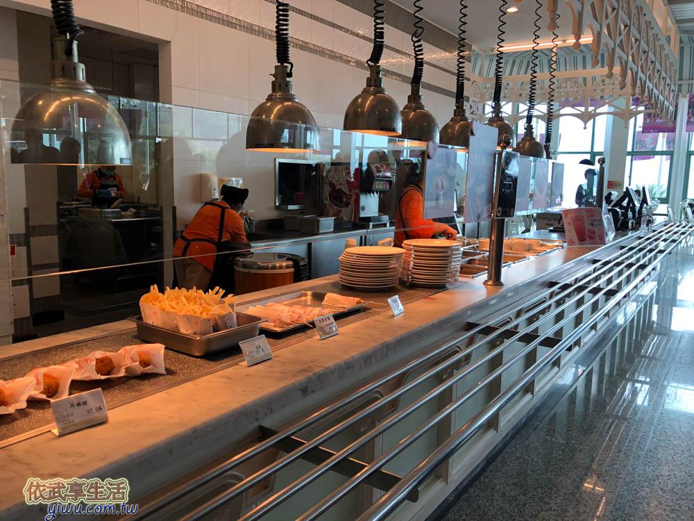 日月潭纜車站水晶餐廳餐點種類