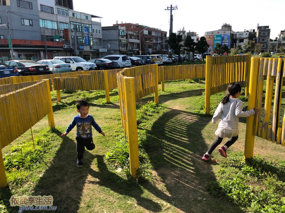 新竹樹林頭公園大型迷宮
