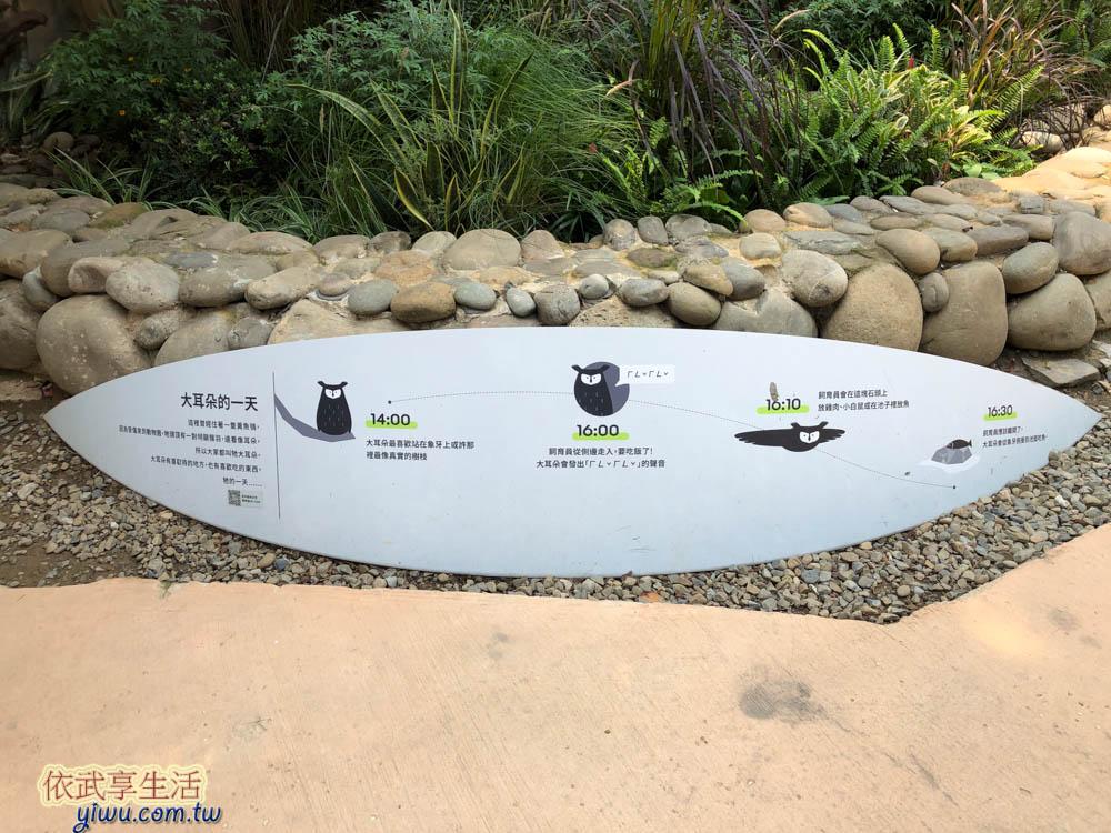 新竹市立動物園黃魚鴞的家