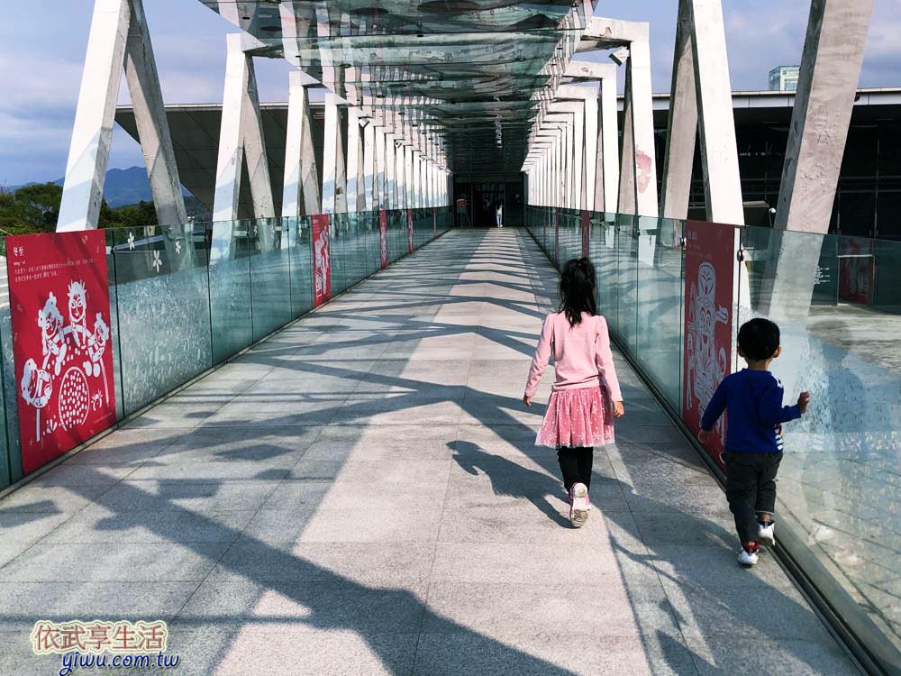 苗栗臺灣客家文化館空橋
