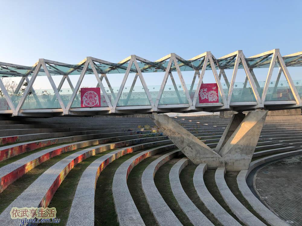 臺灣客家文化館階梯廣場