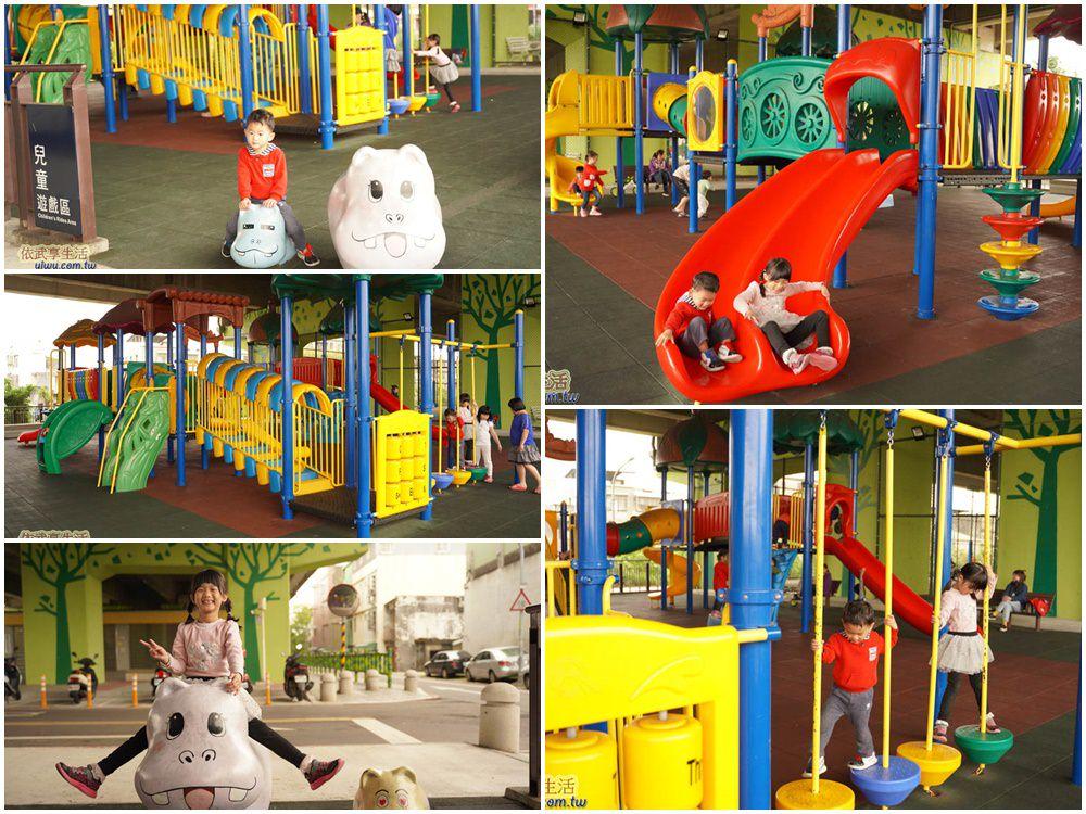 桃園國2橋下兒童冒險公園兒童遊戲區