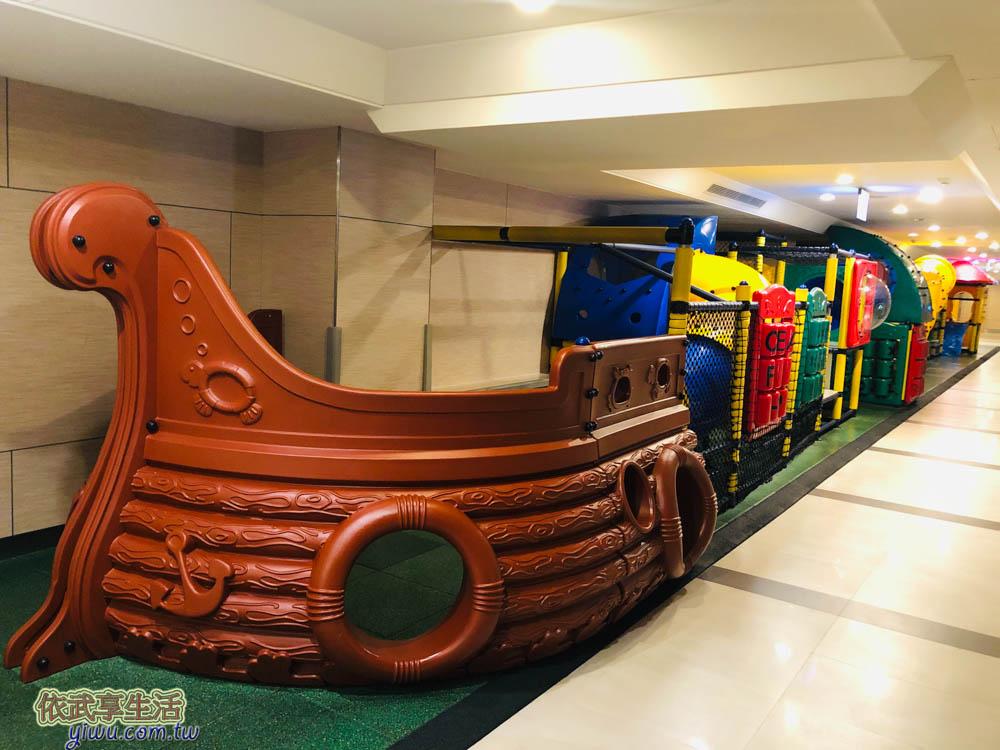 福容大飯店麗寶樂園兒童遊戲區