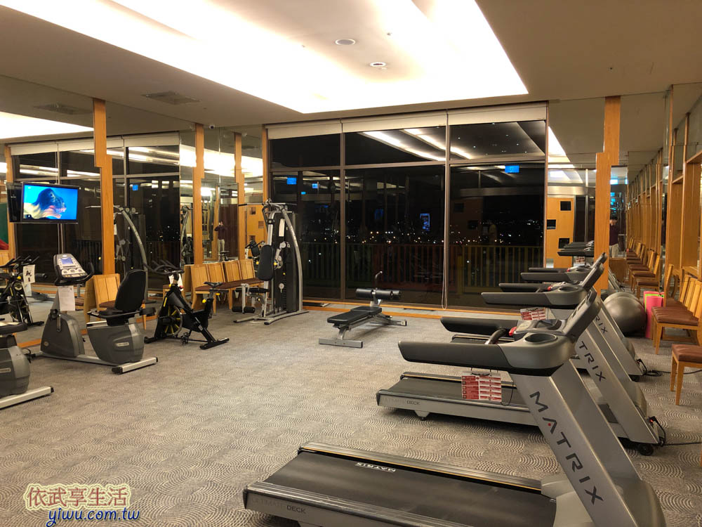 福容大飯店麗寶樂園健身房