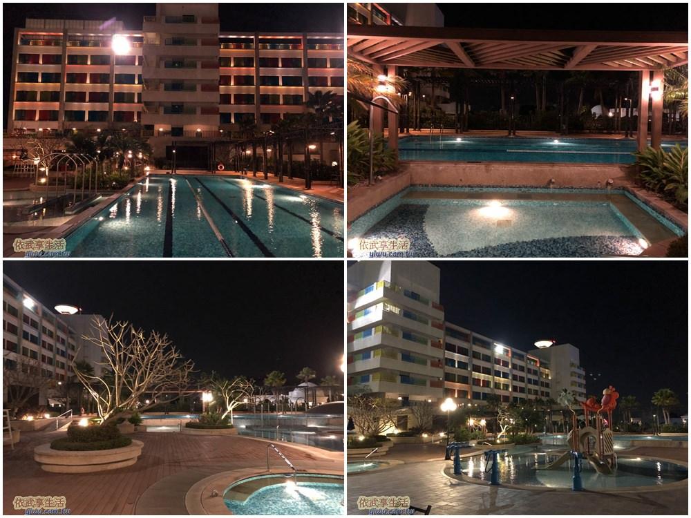 福容大飯店麗寶樂園游泳池