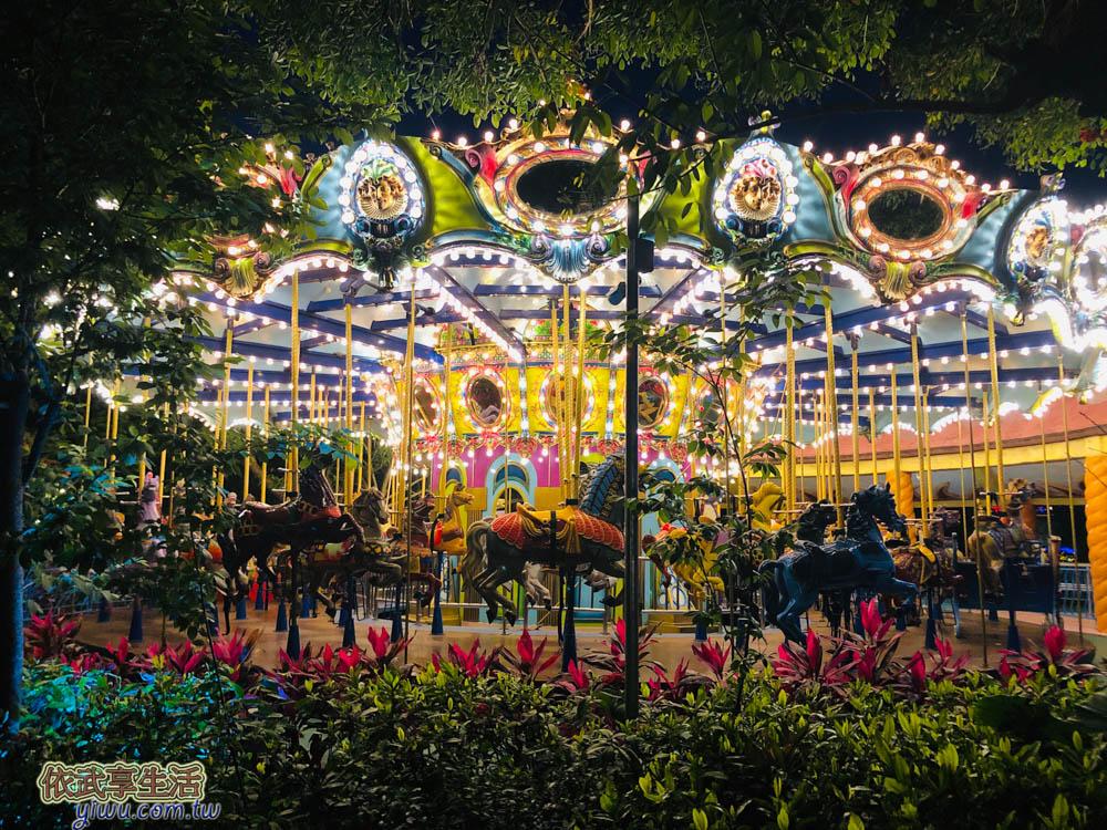 麗寶樂園探險世界旋轉木馬