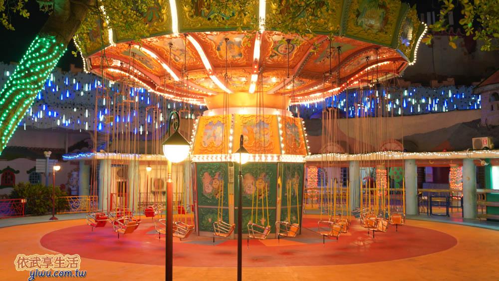 麗寶樂園探索世界皇冠鞦韆