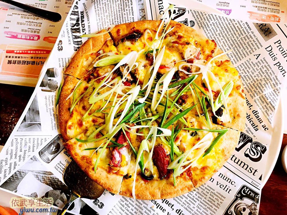 新竹托斯卡尼尼竹科店香蒜櫻桃鴨pizza