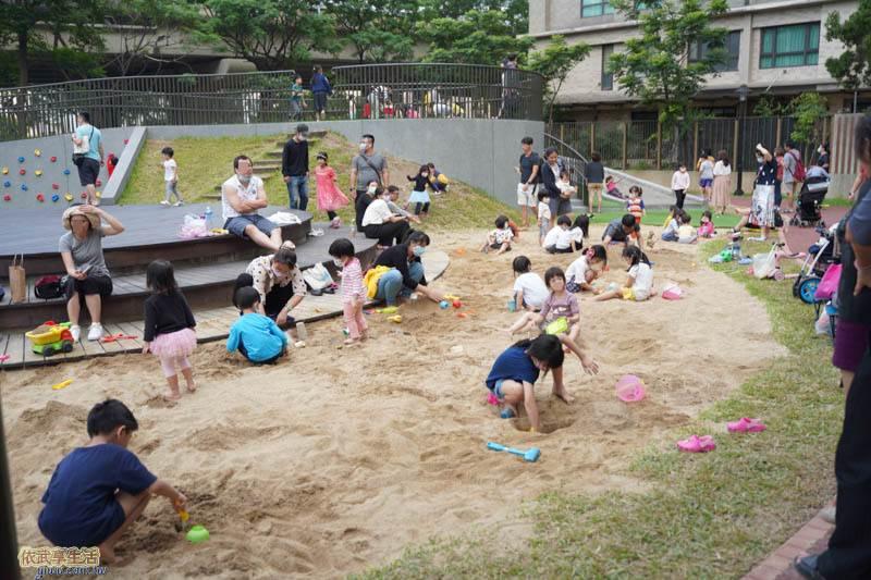 新竹綠光公園沙坑
