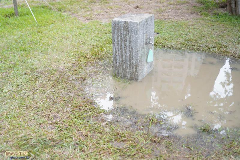 新竹綠光公園玩沙池前水龍頭