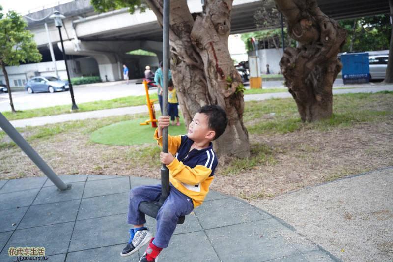 新竹綠光公園溜索