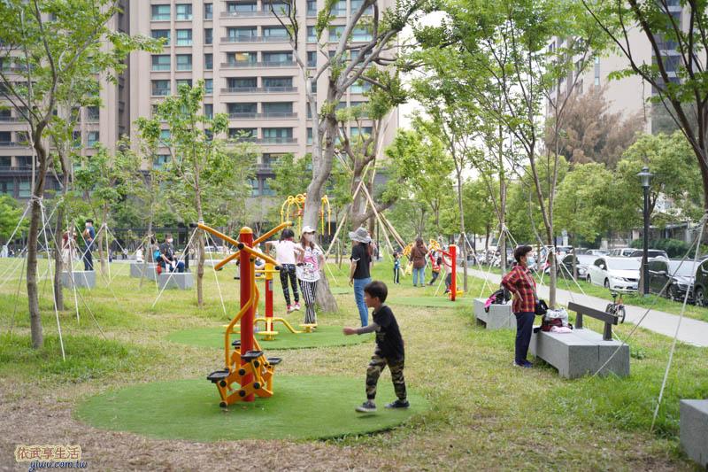 新竹綠光公園體健設施