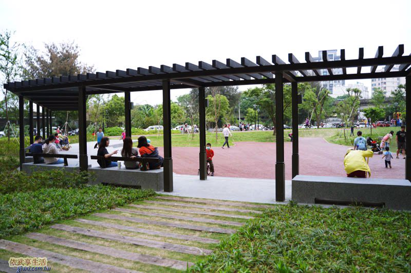 新竹綠光公園涼亭