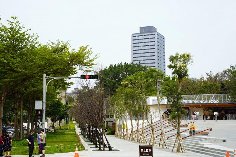新竹動物園旁百年大道