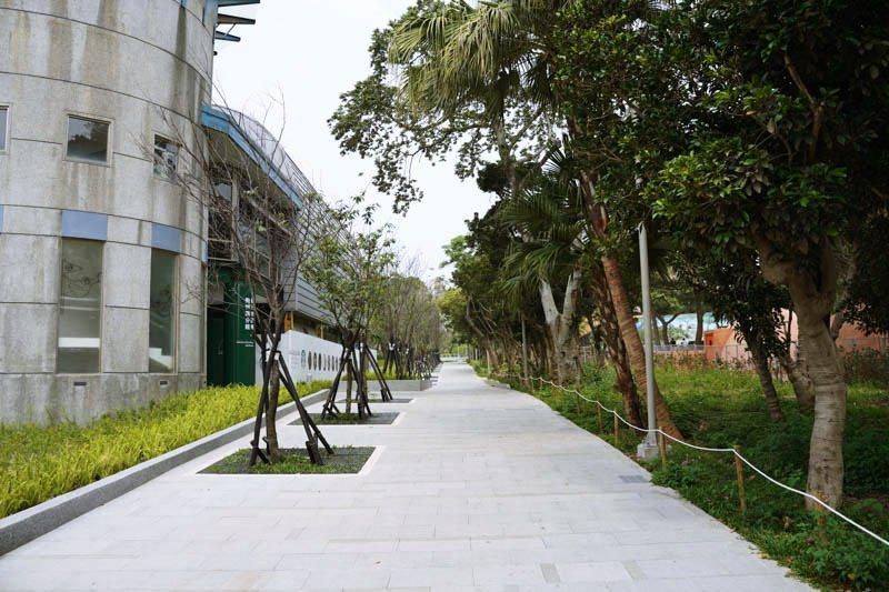 新竹動物園圖書館旁的百年大道