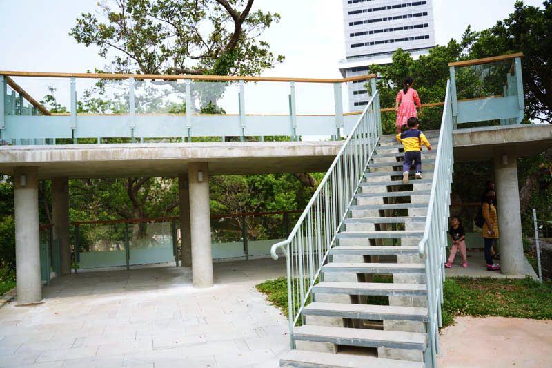 新竹昆蟲館前方的眺望台