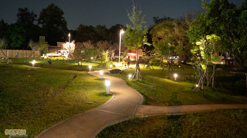 新竹公園夜景