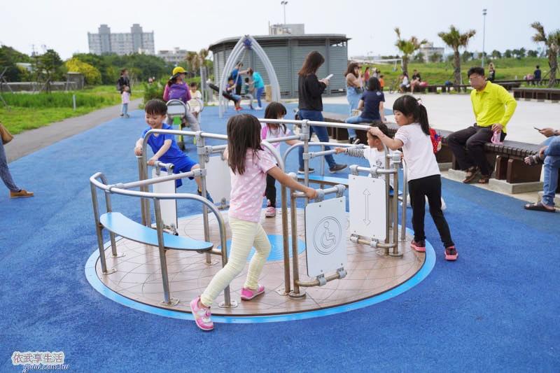 南寮運動公園旋轉盤