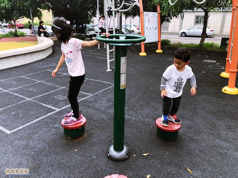 新竹竹東中正公園(兒童公園)扭腰機