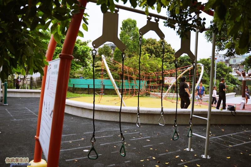 新竹竹東中正公園(兒童公園)懸掛訓練