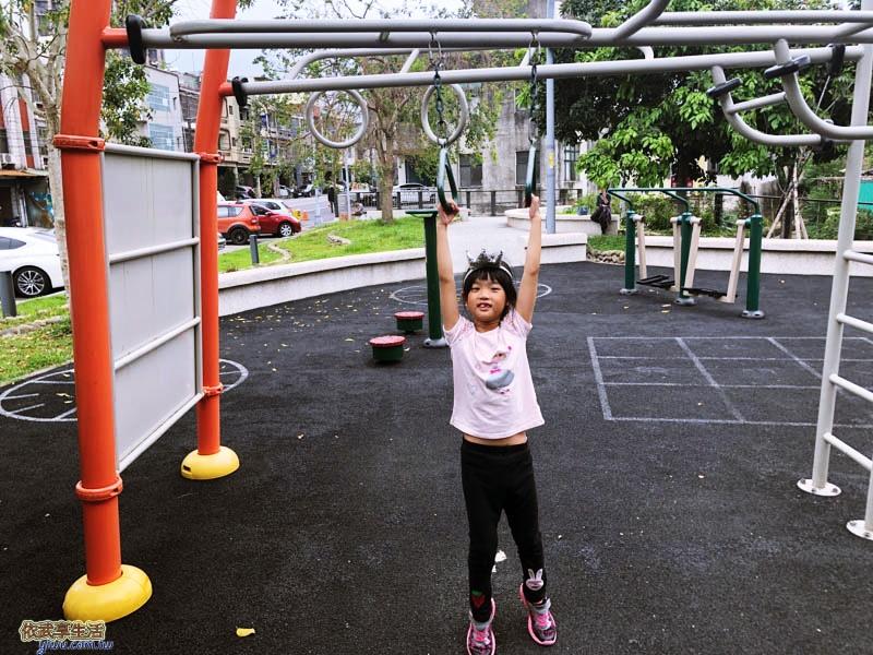 新竹竹東中正公園(兒童公園)上拉桿