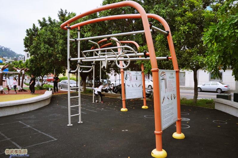 新竹竹東中正公園(兒童公園)體健設施