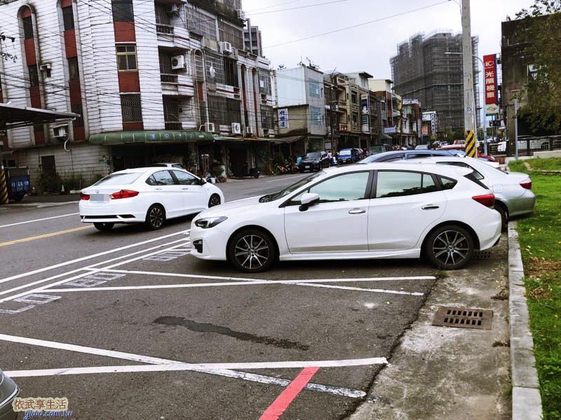 新竹竹東中正公園(兒童公園)停車格