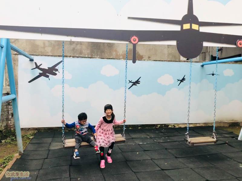 新竹眷村博物館鞦韆