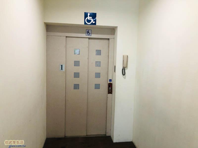 新竹眷村博物館無障礙電梯