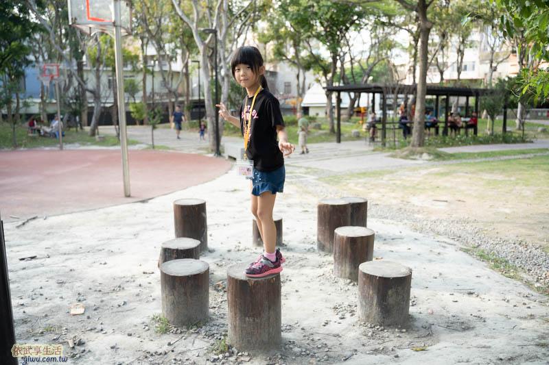 長和公園木樁