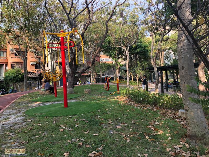 長和公園體健設施