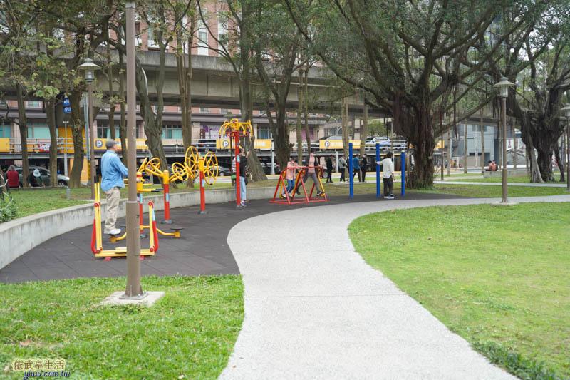 中央公園體健設施