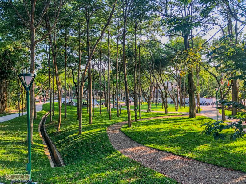 新竹明湖公園步道