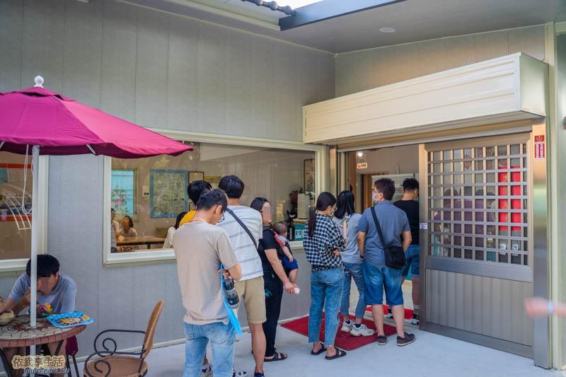 田庄桑椹冰店門口