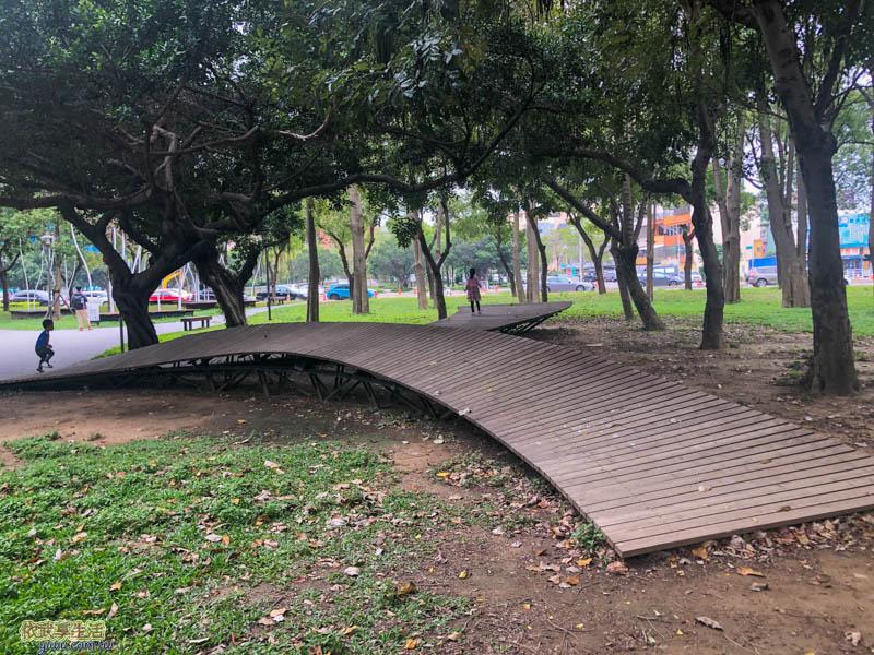 新竹綠園道簇綻橋