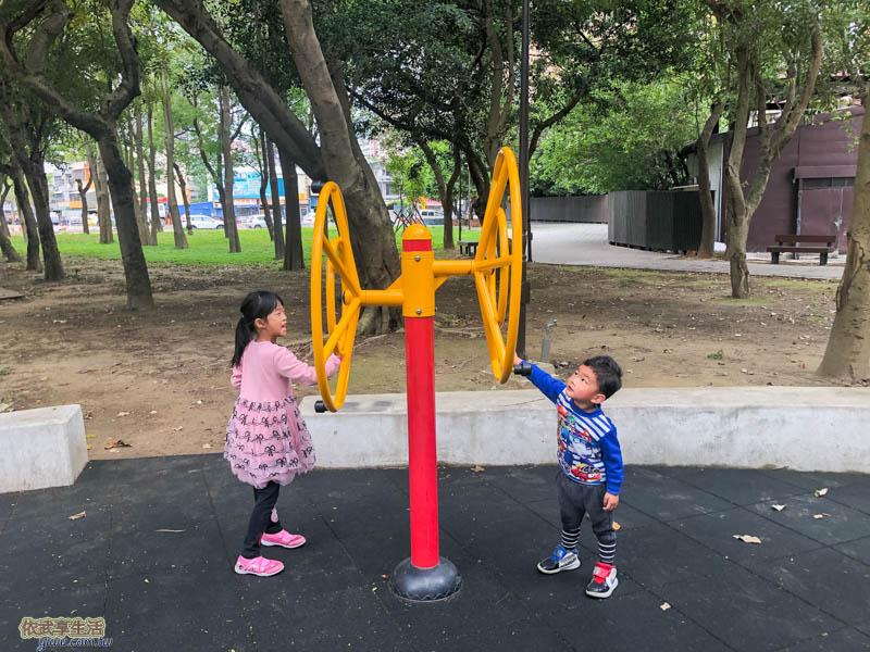 新竹綠園道體健設施
