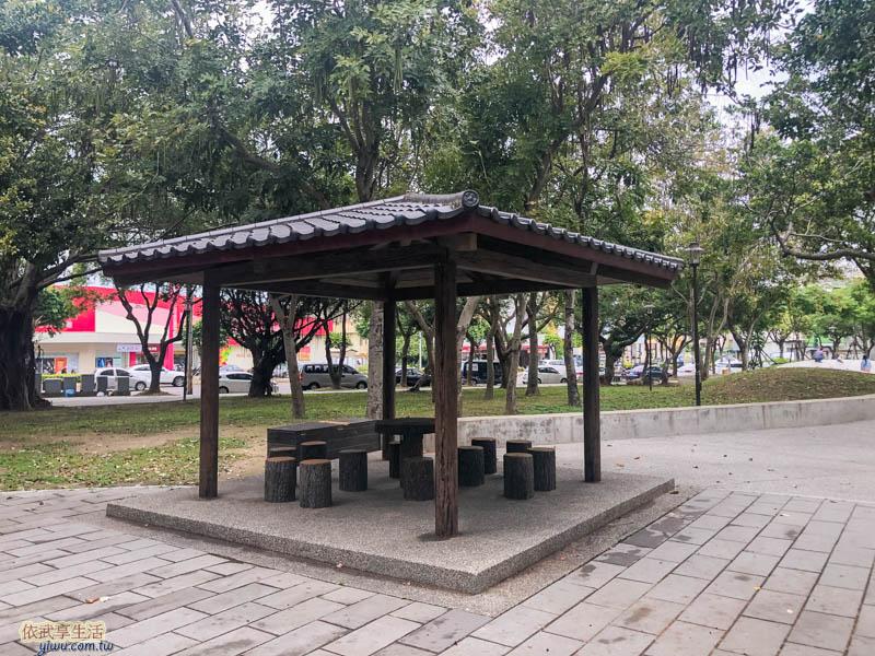 新竹綠園道涼亭
