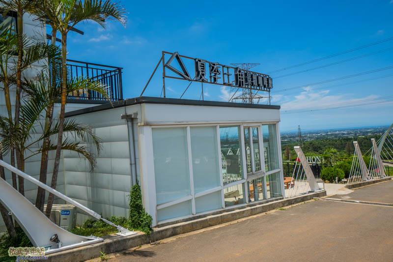 夏季三角景觀咖啡廳門口