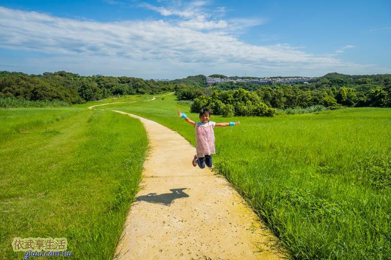 青青草原野趣綠丘