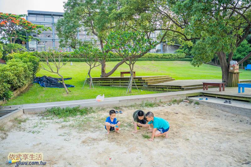 愛家農場玩沙池