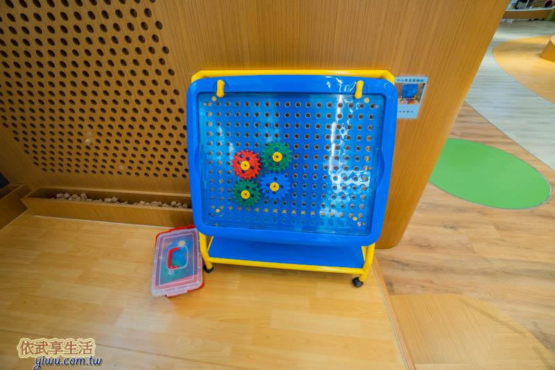 香山親子館齒輪玩具