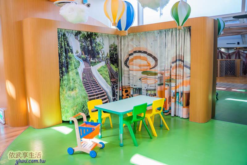 香山親子館兒童座位區