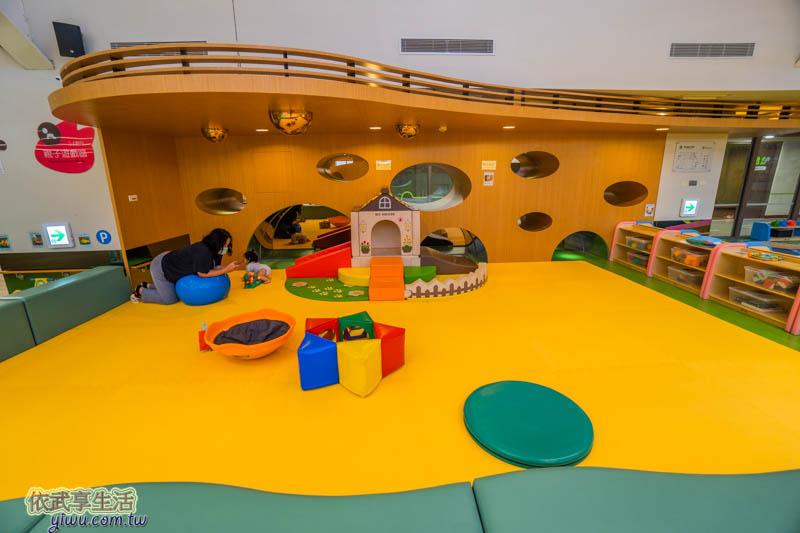 香山親子館0-2歲遊戲區