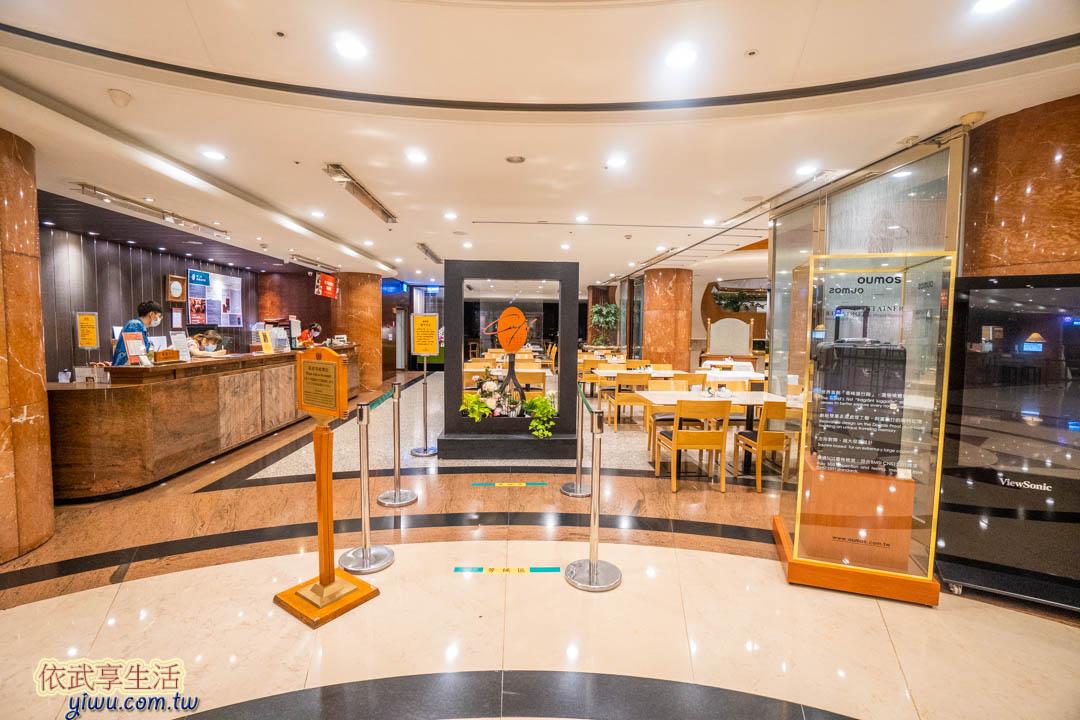 長榮桂冠酒店台中自助餐